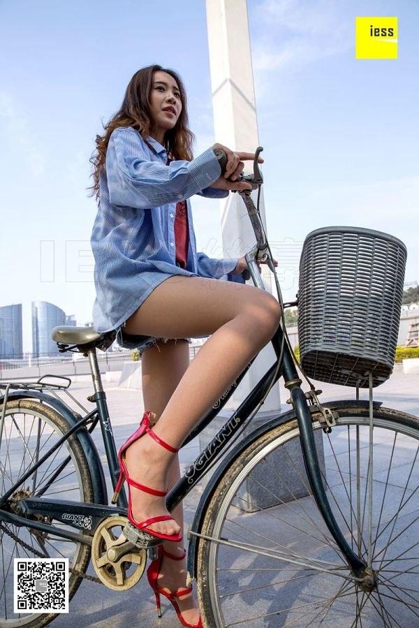 [IESS异思趣向] 2018.06.19 丝享家257:《旧单车与铁链》暖暖 [96P-49.1M]